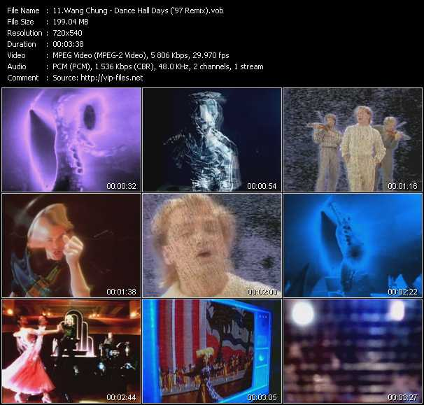 download Wang Chung « Dance Hall Days ('97 Remix) » video vob
