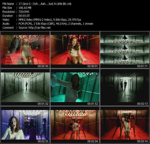 download Gina G « Ooh Aah... Just A Little Bit » video vob