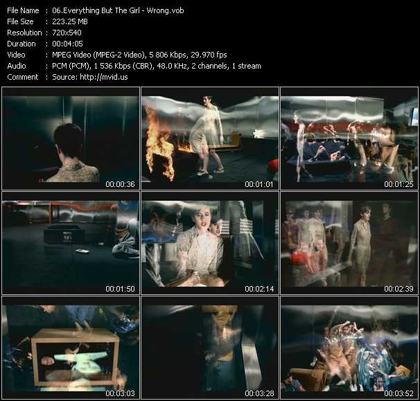 download Everything But The Girl « Wrong » video vob