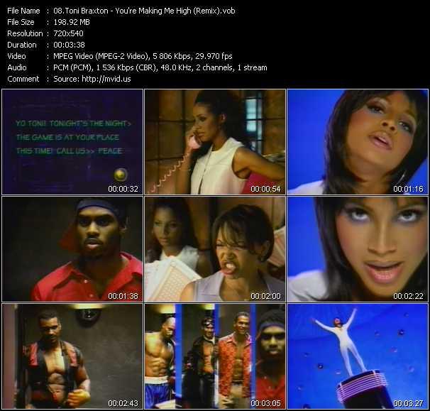 video You're Making Me High (Remix) screen