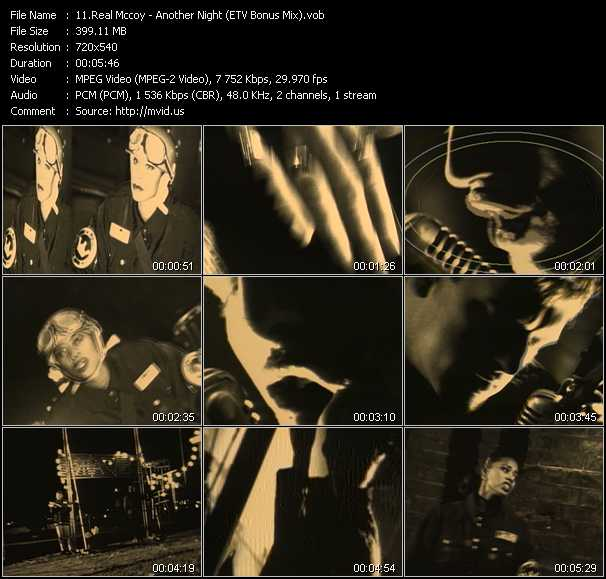 video Another Night (ETV Bonus Mix) screen