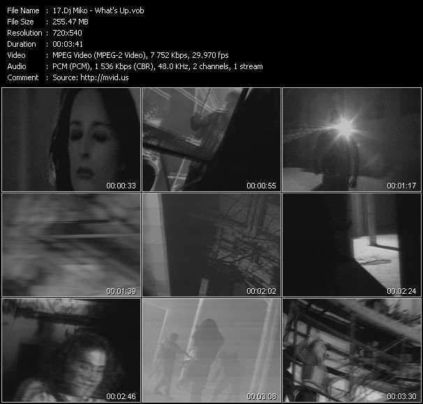download Dj Miko « What's Up » video vob