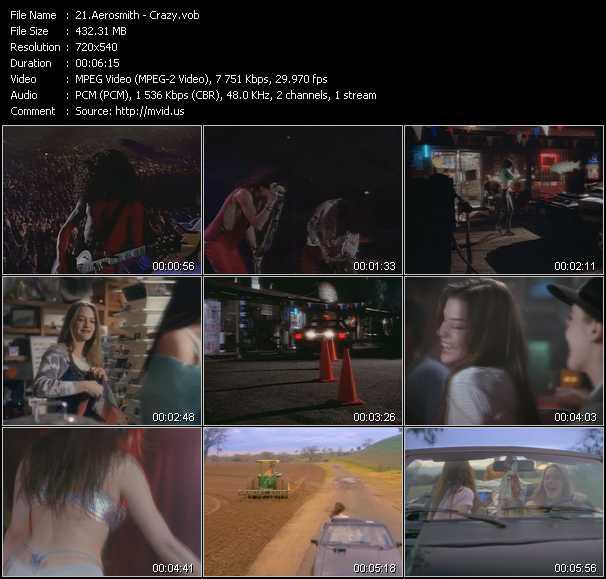 video Crazy screen