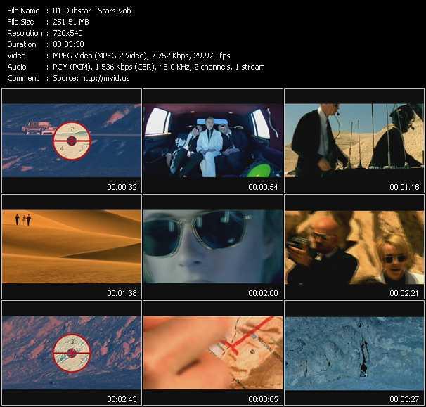 download Dubstar « Stars » video vob
