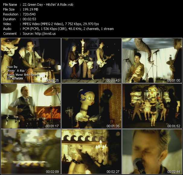 video Hitchin' A Ride screen