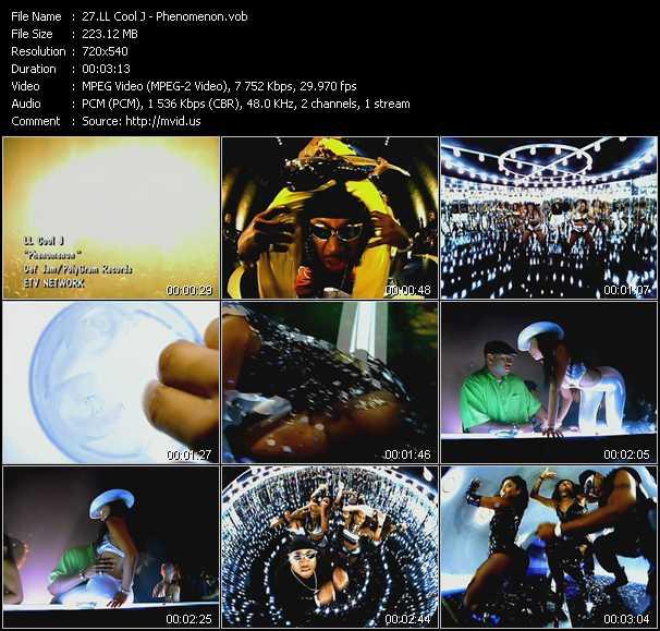 download LL Cool J « Phenomenon » video vob