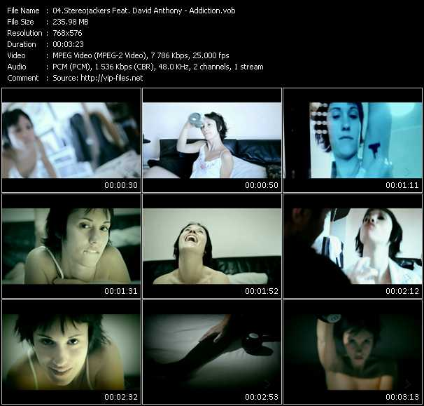 download Stereojackers Feat. David Anthony « Addiction » video vob