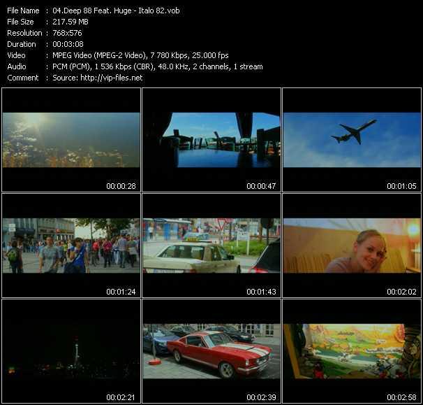 download Deep 88 Feat. Huge « Italo 82 » video vob