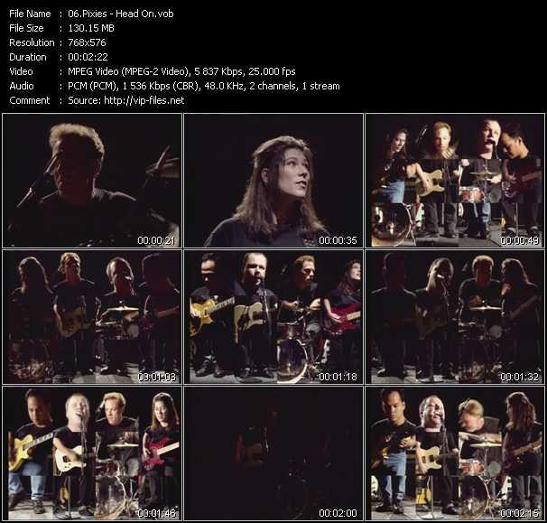 download Pixies « Head On » video vob