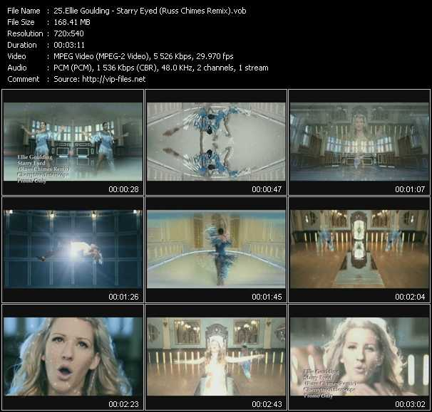 download Ellie Goulding « Starry Eyed (Russ Chimes Remix) » video vob