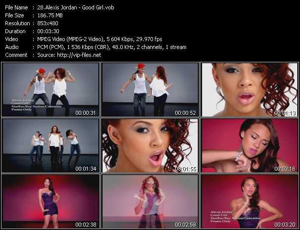 video Good Girl screen