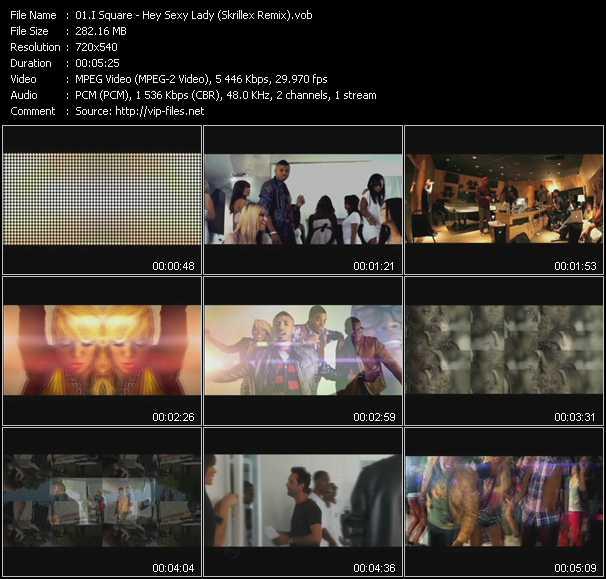 video Hey Sexy Lady (Skrillex Remix) screen