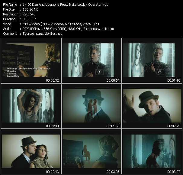 video Operator screen