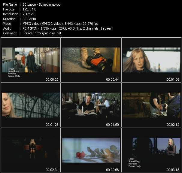 video Something screen