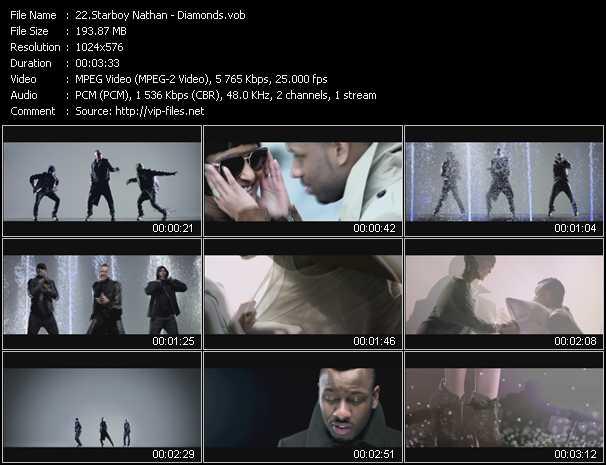 video Diamonds screen