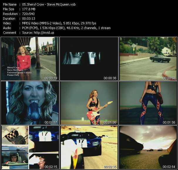 video Steve McQueen screen