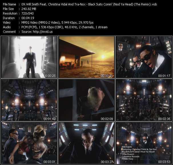 video Black Suits Comin' (Nod Ya Head) (The Remix) screen