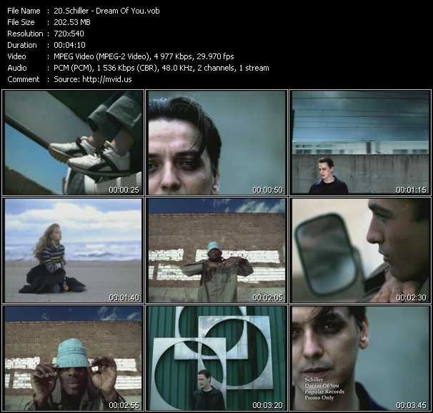 video Dream Of You screen