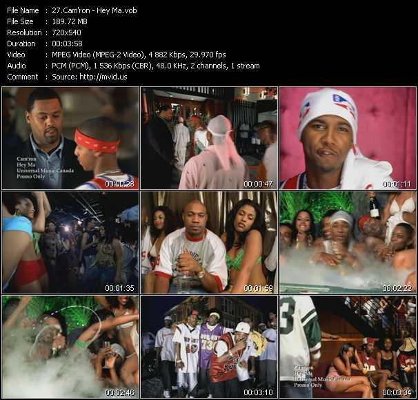 video Hey Ma screen
