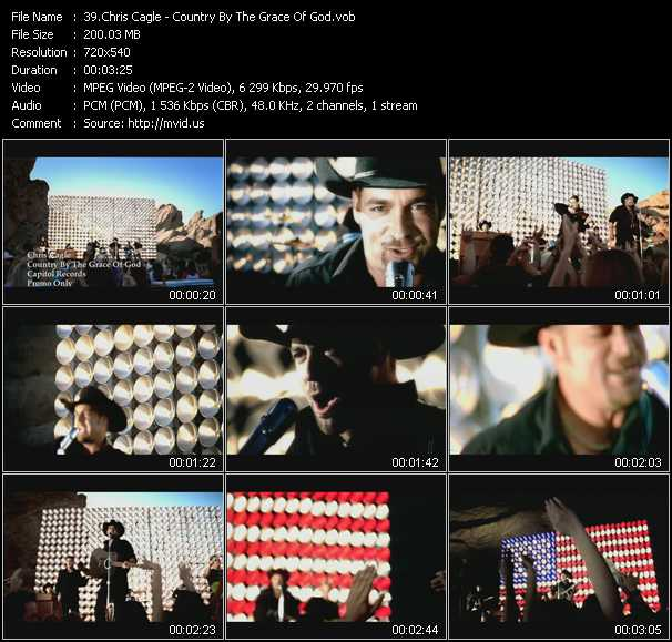 video Country By The Grace Of God screen