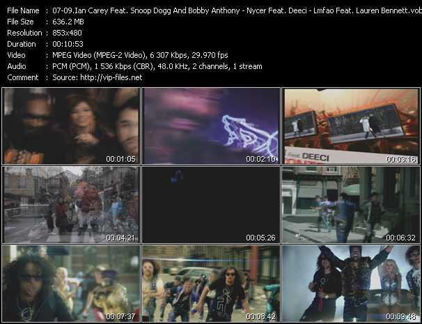video Last Night - Losing Control - Party Rock Anthem screen