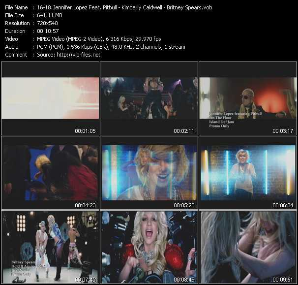 video On The Floor - Desperate Girls And Stupid Boys - Hold It Against Me screen