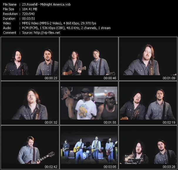video Midnight America screen