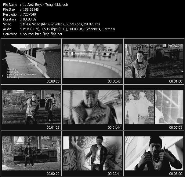 download New Boyz « Tough Kids » video vob