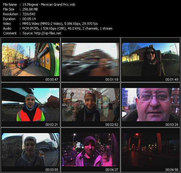video Mexican Grand Prix screen