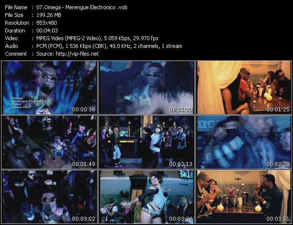 video Merengue Electronico screen