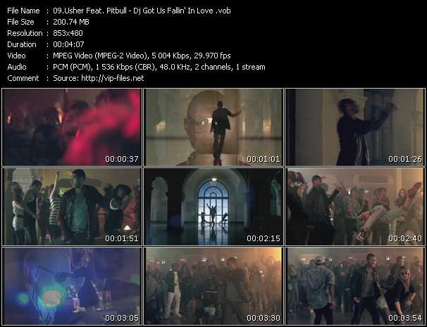 video Dj Got Us Fallin' In Love screen