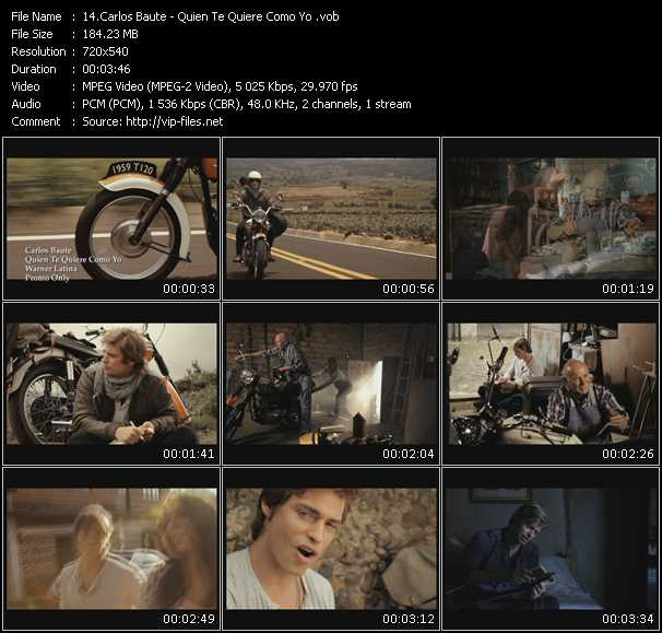 video Quien Te Quiere Como Yo screen