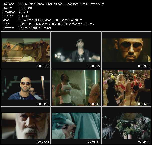 video Estoy Enamorado - Hips Don't Lie - El Amor screen