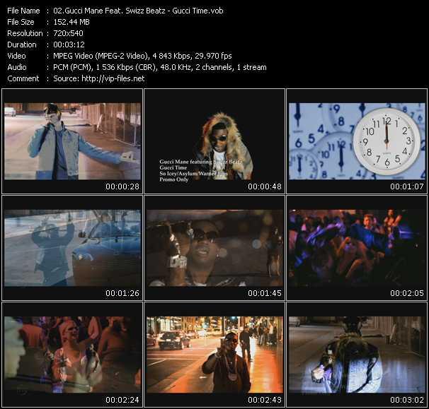 video Gucci Time screen