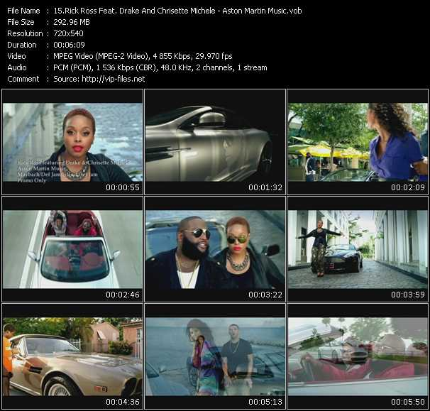 video Aston Martin Music screen