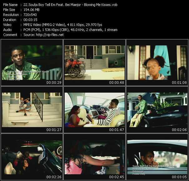 download Soulja Boy Tell 'Em Feat. Bei Maejor « Blowing Me Kisses » video vob