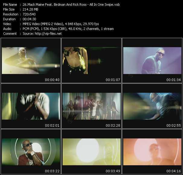 video All In One Swipe screen