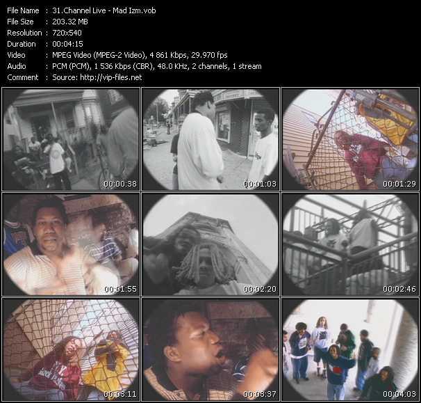 download Channel Live « Mad Izm » video vob