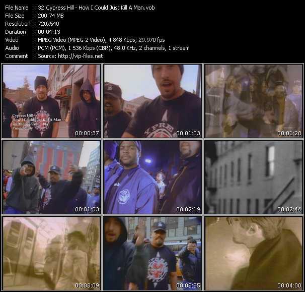 download Cypress Hill « How I Could Just Kill A Man » video vob