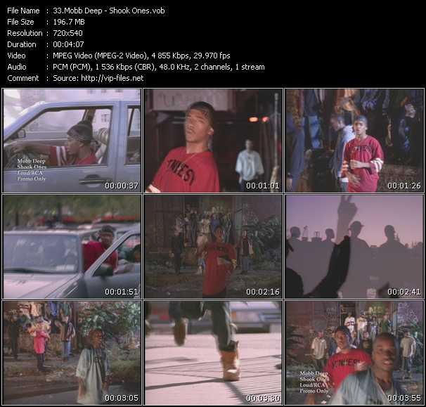 video Shook Ones screen