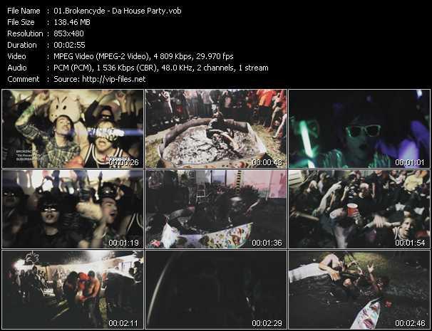 video Da House Party screen