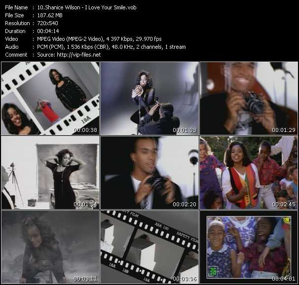 download Shanice (Shanice Wilson) « I Love Your Smile » video vob
