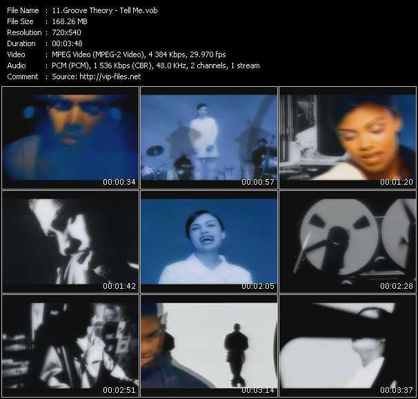 video Tell Me screen