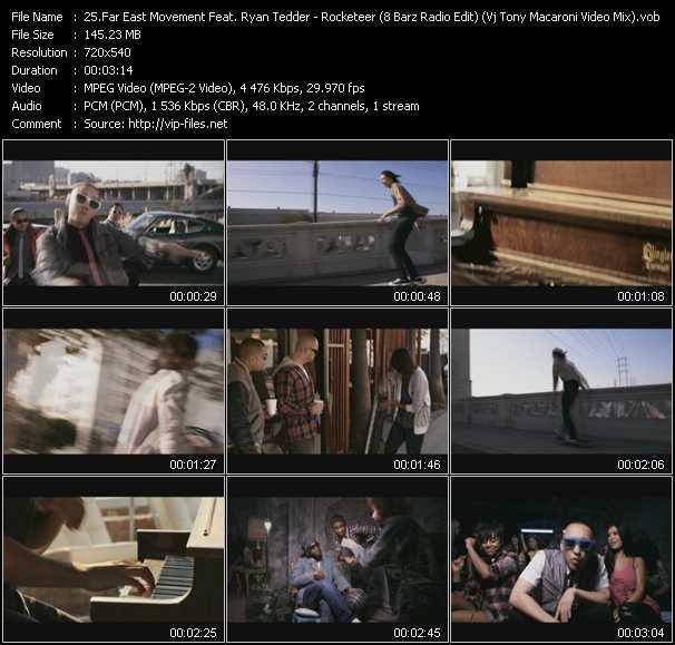 Смотреть онлайн клип far east movement rocketeer feat ryan tedder