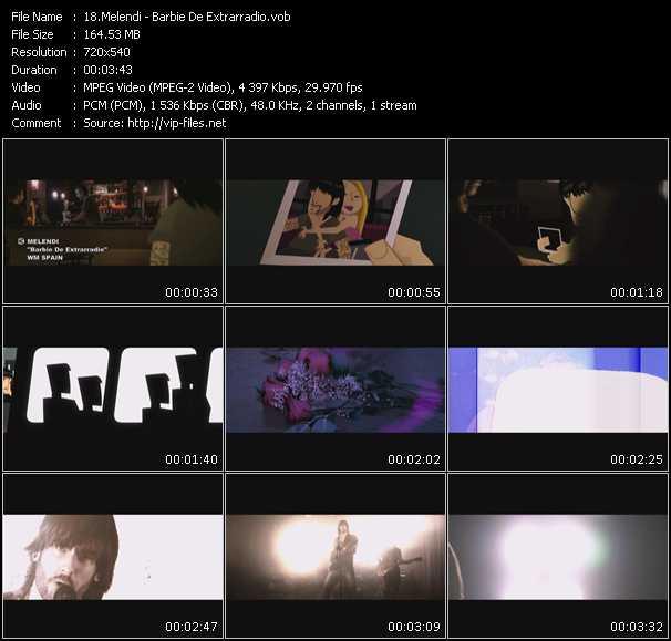video Barbie De Extrarradio screen