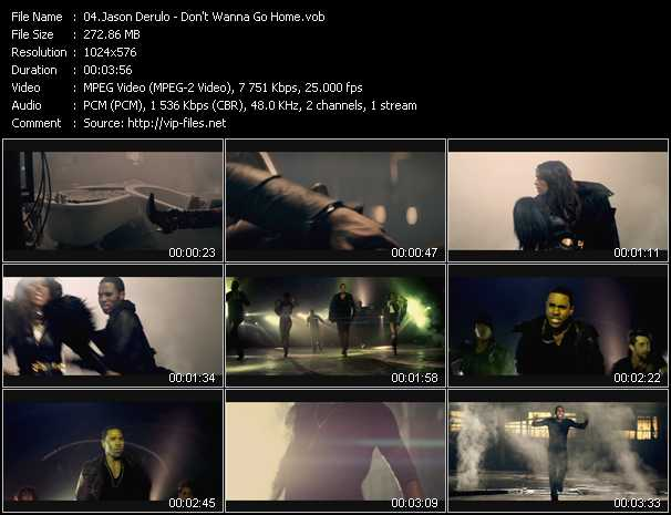 download Jason Derulo « Don't Wanna Go Home » video vob
