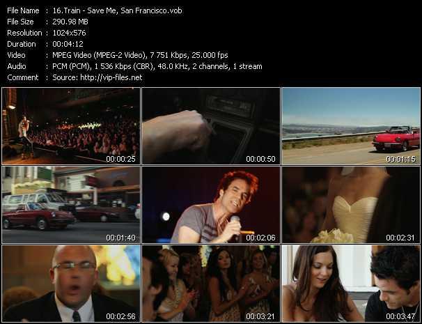 video Save Me, San Francisco screen