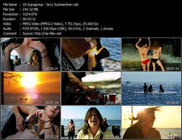 video Sexy Summertime screen
