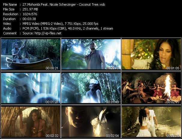 download Mohombi Feat. Nicole Scherzinger « Coconut Tree » video vob