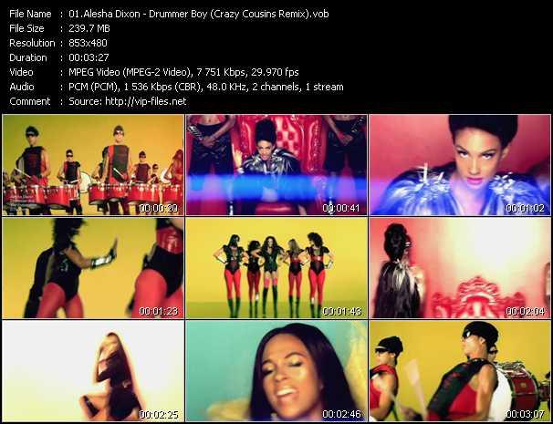 video Drummer Boy (Crazy Cousins Remix) screen